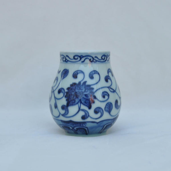 Blue and White Placesetting Vase IV