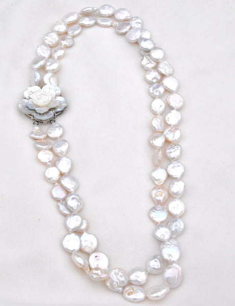 2 strand Freshwater Pearls