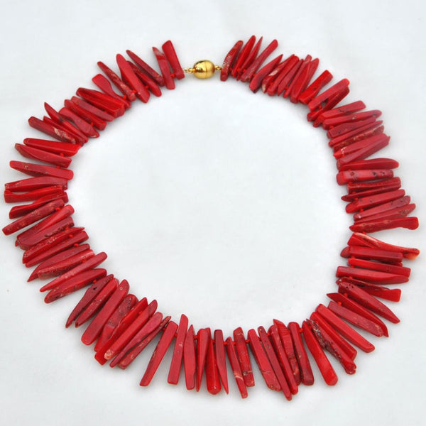 "Coral Collar 18"" Necklace"