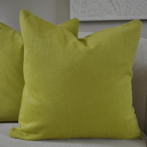 Green Cashmere Pillow