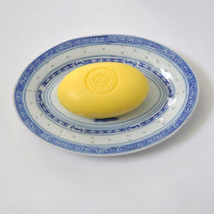 Rice Dragon Oval Plate