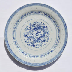 Rice Dragon Dinner Plate