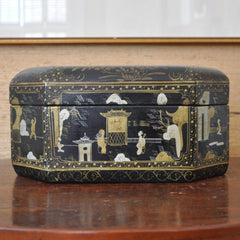 Gilt Chinoiserie Box