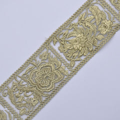 Gold Metallic Tape Trim
