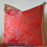 Red Vintage Chinese Pillow