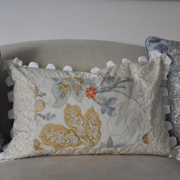 SOLD Cream Bennison Pillow