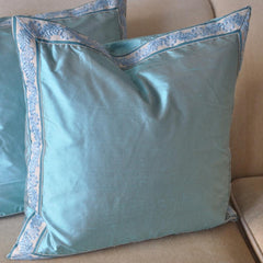 Blue Turquoise Pillow