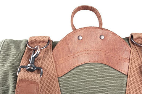 SATCHEL BAG IN TOBACCO