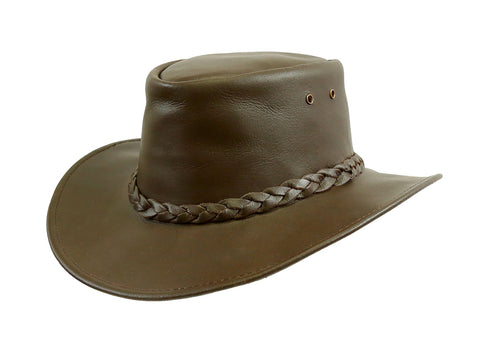 Kakadu Murray Colonial Leather Hat