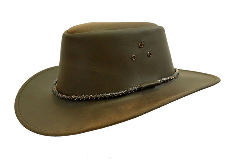 Australian Style Echuca Leather Hat from Down Under | Kakadu Traders Traveller- 2nd choice