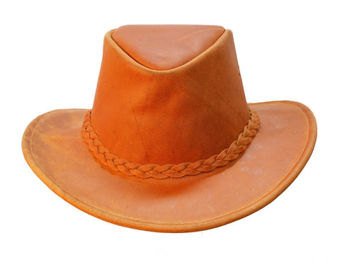 Kakadu Leather Hat Coburg Rust, 2nd choice