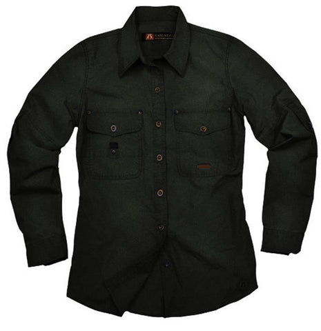 Kakadu Womens Safari Shirt Concord