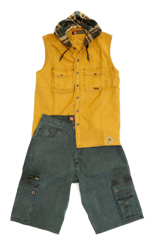 Kakadu Traders  Utility Cargo Shorts with Pockets