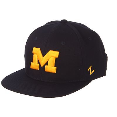 outlet store 56678 ffcbd Licensed Michigan Wolverines NCAA M15 Size 7 3 8 Fitted Hat Cap by Zep –  KO 41 13 (Kickoffshirts.com Fishing) 2018