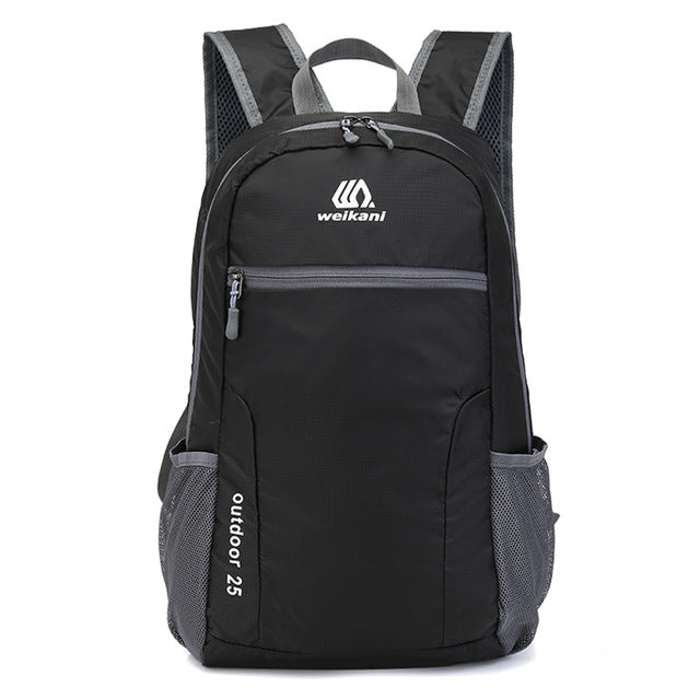 25L Foldable Cycling Backpack Waterproof Outdoor Sports Bag Camping Hiking  Climbing Backpack Rucksack Handy Travel Daypack 85487340f0