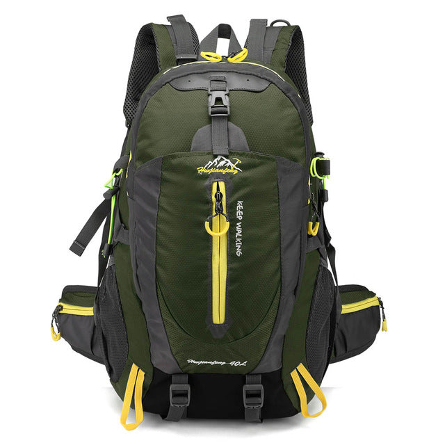 21db2b9747 40L Waterproof Tactical Backpack Hiking Bag Cycling Climbing Backpack  Laptop Rucksack Travel Outdoor Bags Men Women