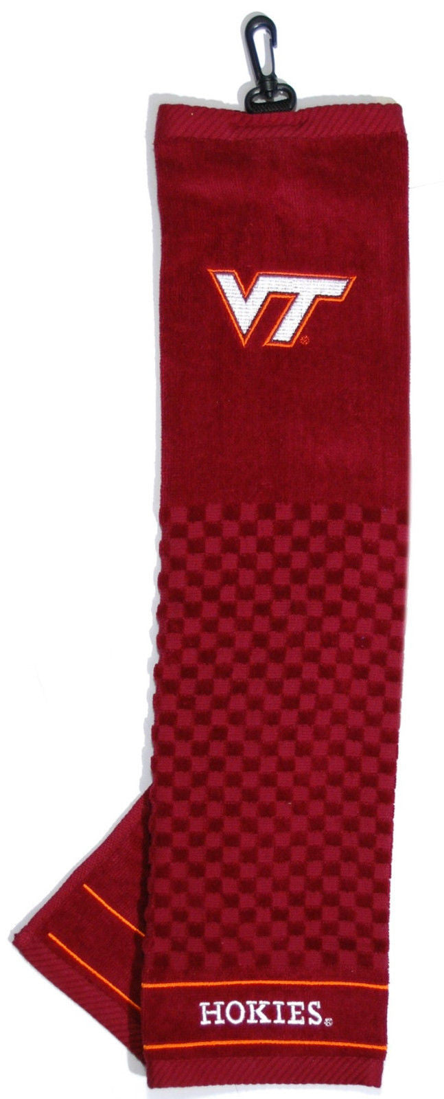 "NCAA Virginia Tech Hokies Towel Embroidered Golf 16"" x 22"""