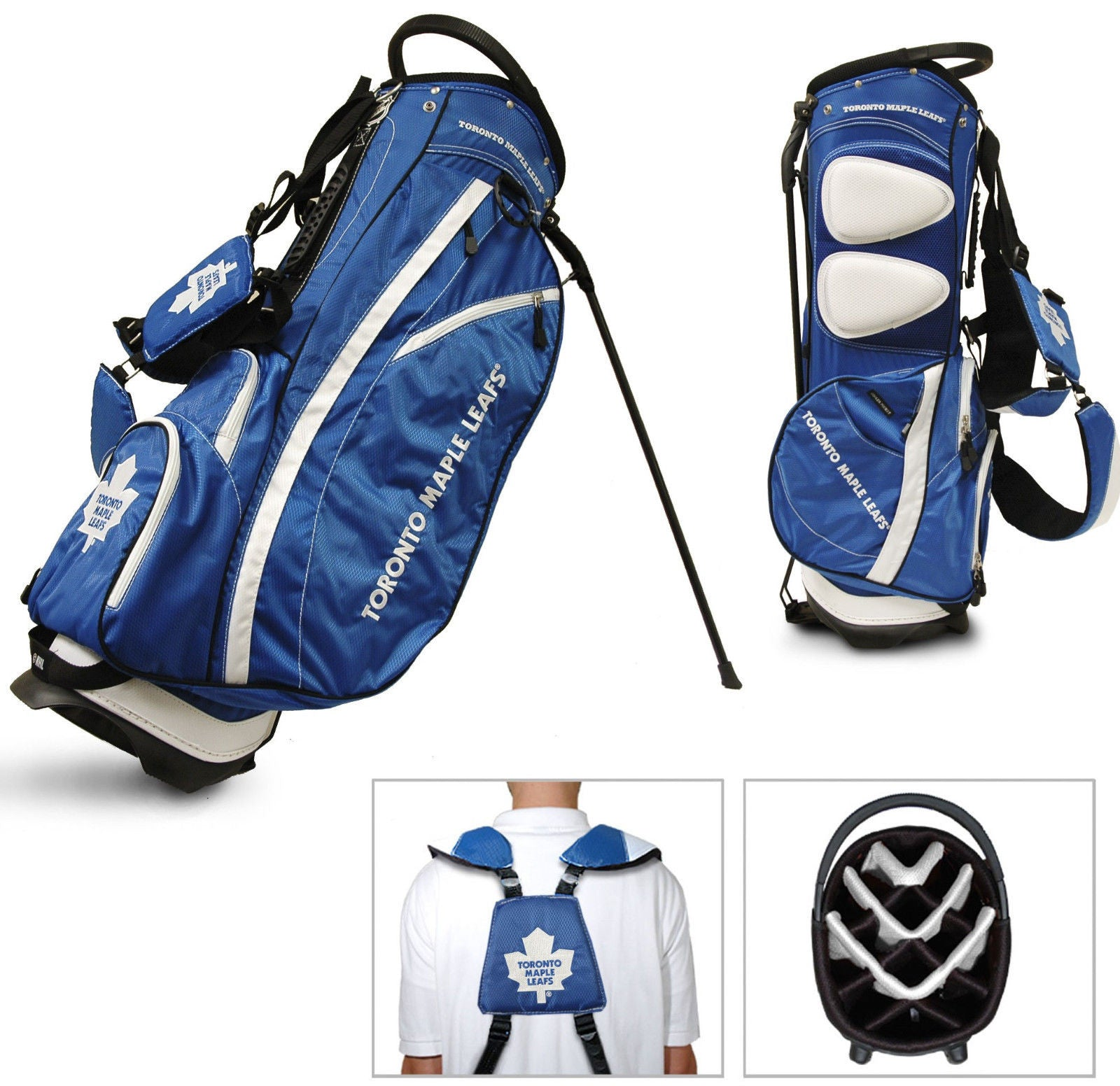 NHL Toronto Maple Leafs Fairway Golf Stand Bag FREE SHIPPING!