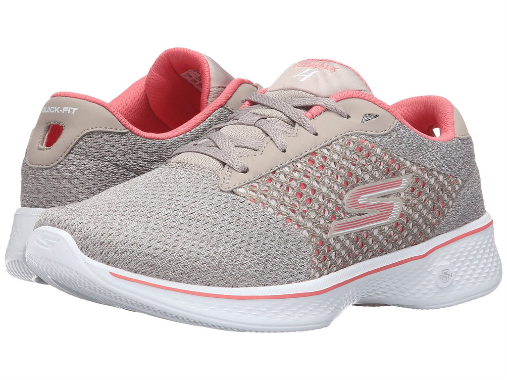 NEW WOMENS SKECHERS GoWalk 4 Exceed Shoe Style 14146 NavyWhite 187o sm