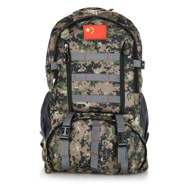 2443caa709db 70L Large Military Backpack Waterproof Outdoor Sports Travel Tactical Bag  Multifunctional Camping Hiking Camouflage Military Bag