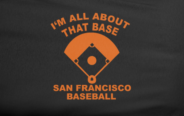 Black Meghan Trainor It's all about the bass baseball SF San Francisco Giants World Series Tee T-Shirt