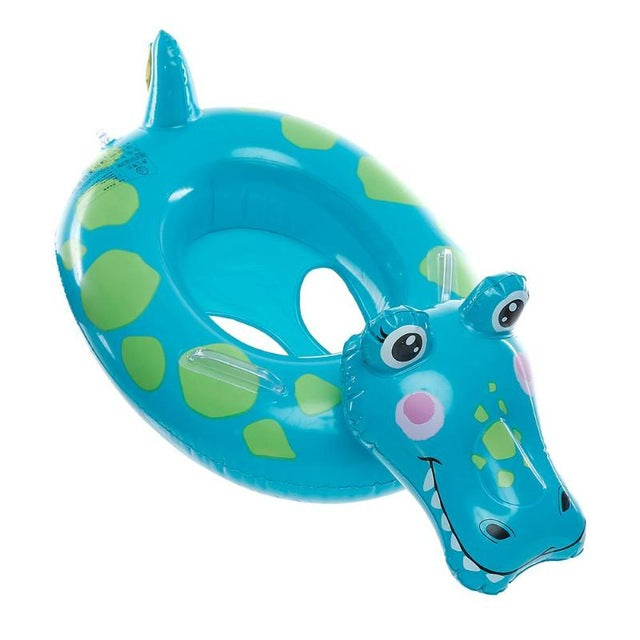 Swimming Pool beach Cartoon Crocodile Lion Baby Inflatable Swimming Ring  Thicken Kids Floats Seat Float Swim Floats Circle AccessoriesSwimming Pool  ...