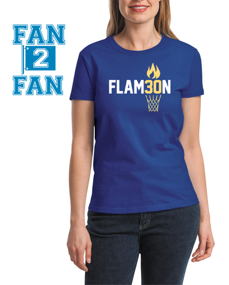 Custom Golden State Warriors Stephen Curry #30 Flam30n Flame On Flameon Basketball Tee Tshirt T-Shirt