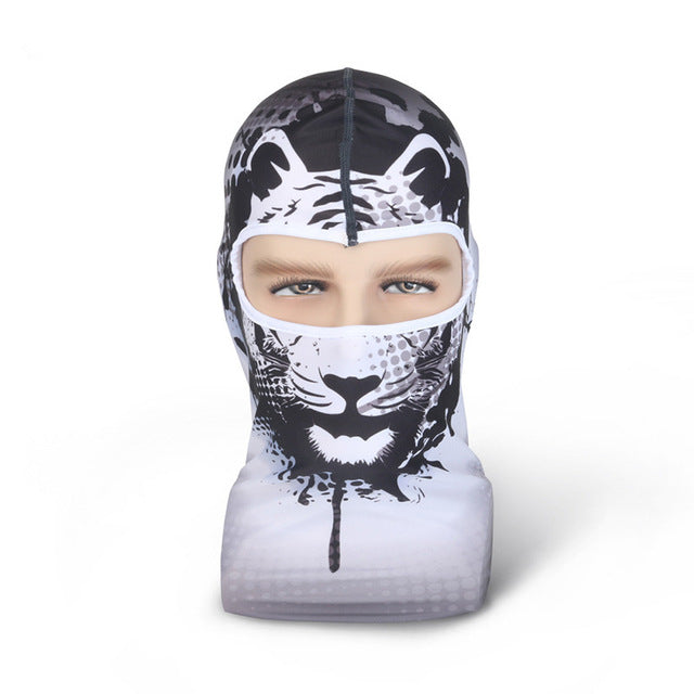 Hot New 3D Animal Face Mask Outdoor Sports Cap Bicycle Fishing Winter Skull  Masks Ski Balaclava Halloween Full Face Mask
