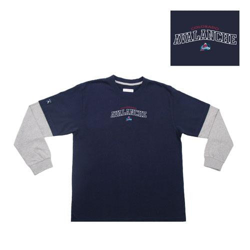 Colorado Avalanche NHL Danger Youth Tee (Navy) (X-Large)