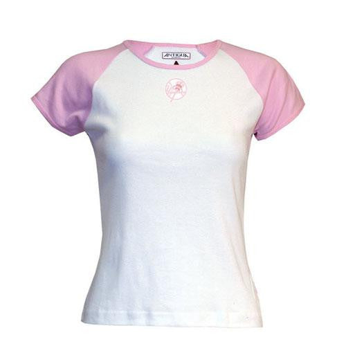 New York Yankees MLB All-Star Womens Top (Pink) (Small)