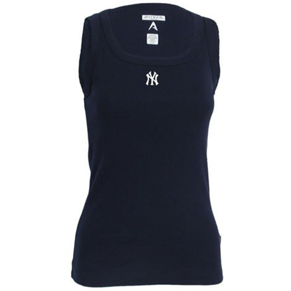 New York Yankees MLB Debut Tank Top Shirt For Women (Navy)