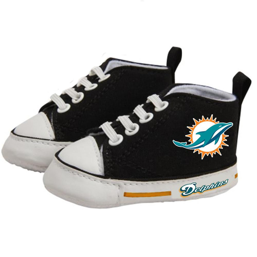 Miami Dolphins NFL Infant High Top Shoes