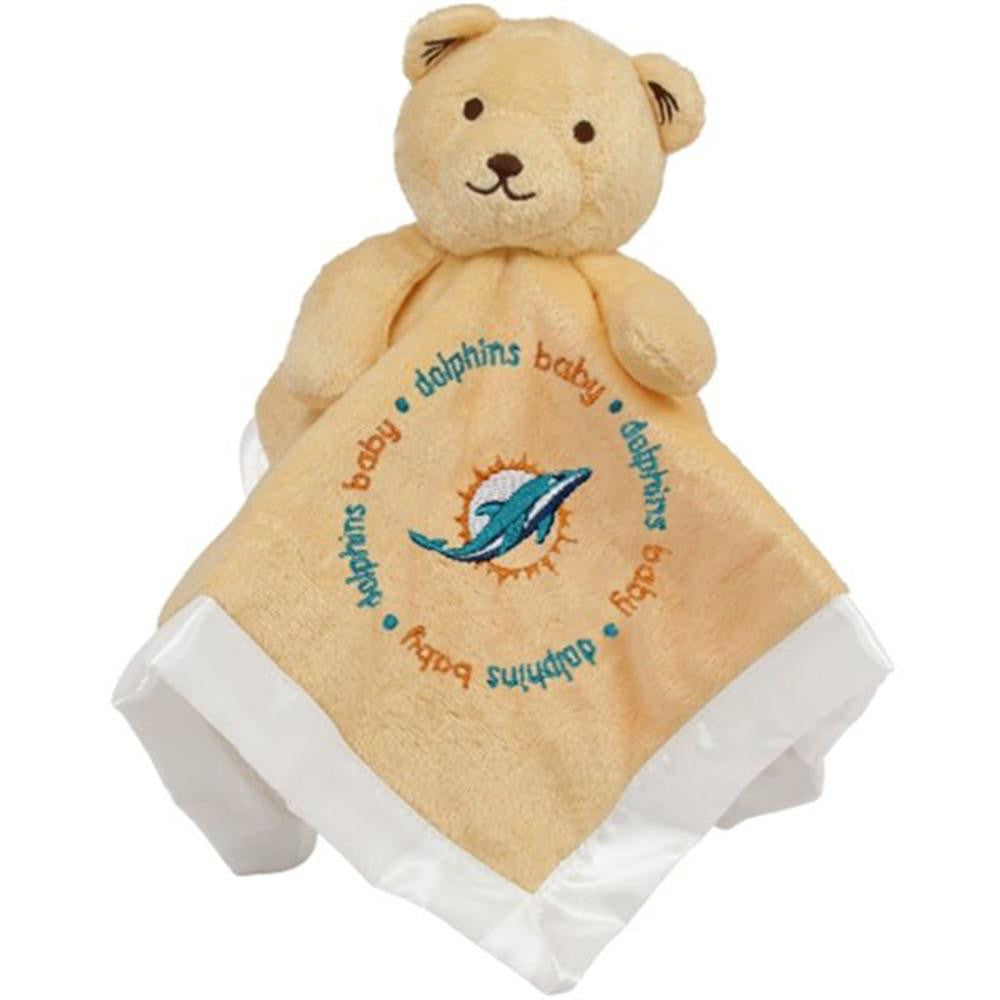 Miami Dolphins NFL Infant Security Blanket (14 in x 14 in)