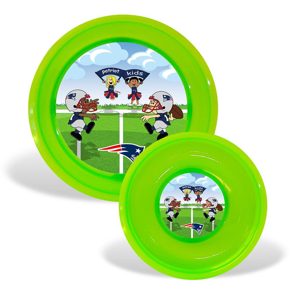 New England Patriots NFL Toddler Plate and Bowl Set