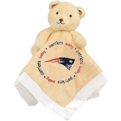 New England Patriots NFL Infant Security Blanket (14 in x 14 in)