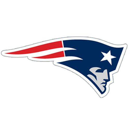 New England Patriots NFL Diecut Window Film