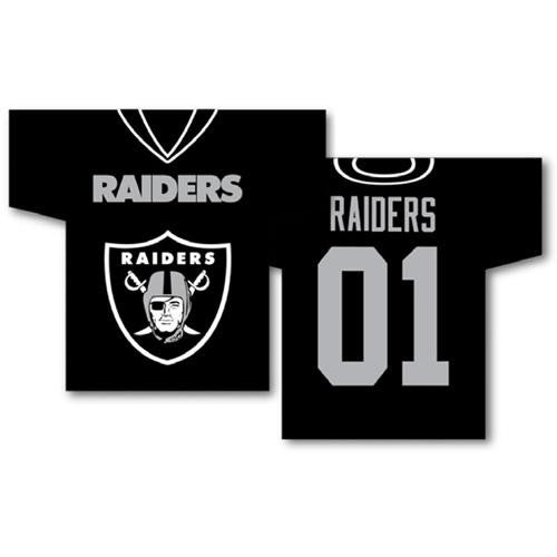 Oakland Raiders NFL Jersey Design 2-Sided 34 x 30 Banner