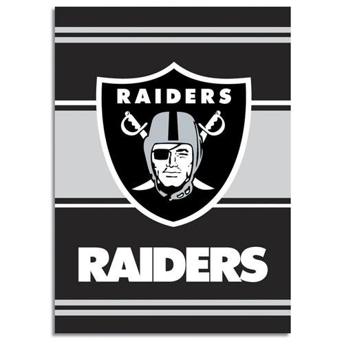 Oakland Raiders NFL 2-Sided Banner (28 x 40)