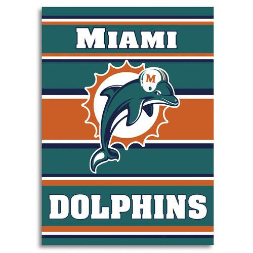 Miami Dolphins NFL 2-Sided Banner (28 x 40)