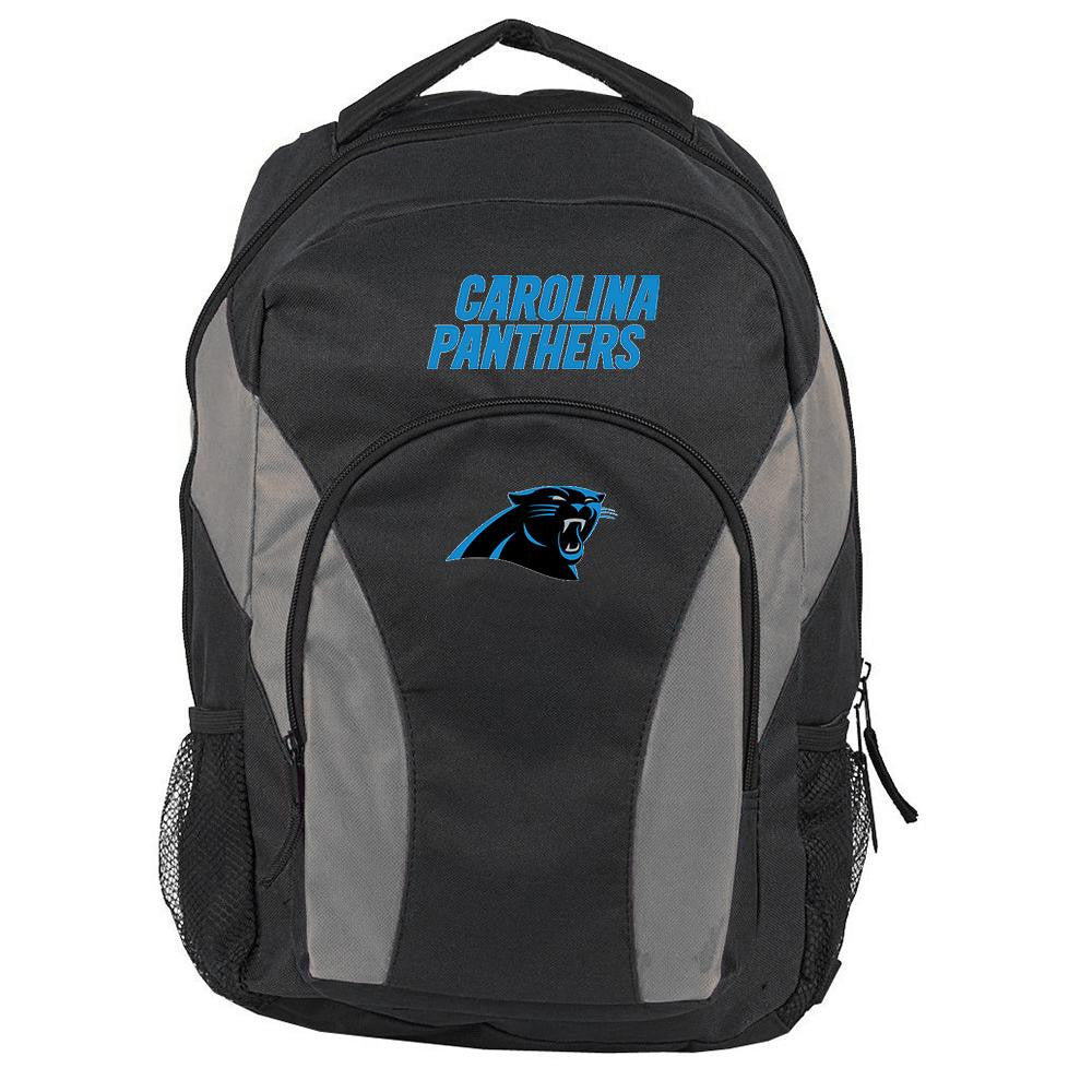 Carolina Panthers NFL Draft Day Backpack (Black) xyz