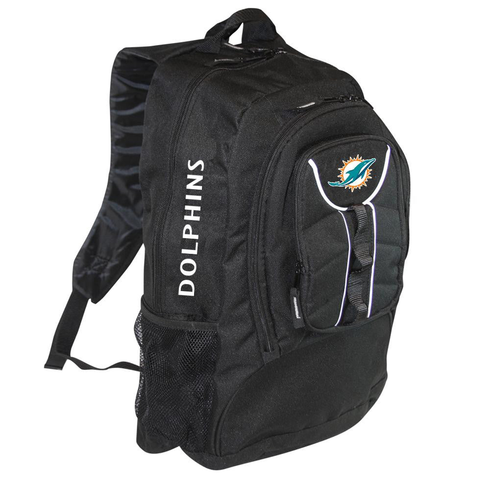 Miami Dolphins NFL Colossus Backpack (Black)