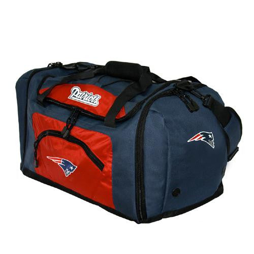 New England Patriots NFL Roadblock Duffle Bag