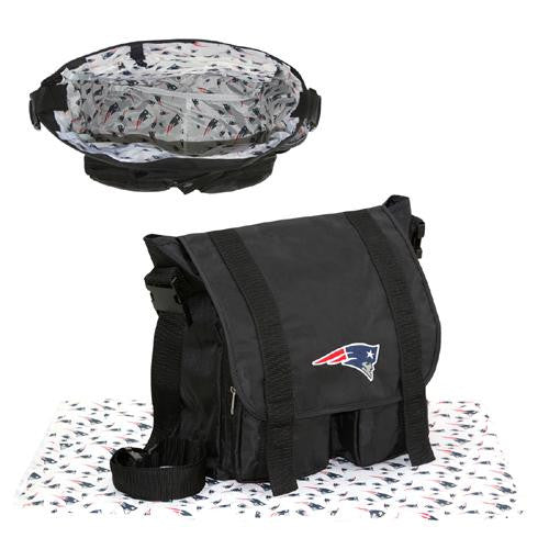 New England Patriots NFL Sitter Baby Diaper Bag xyz