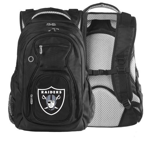 Oakland Raiders NFL Sports Luggage Team Backpack xyz