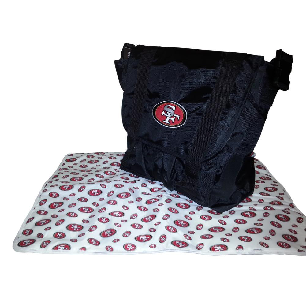 San Francisco 49ers NFL Sitter Baby Diaper Bag