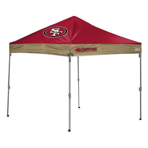 San Francisco 49ers NFL 10' x 10' Straight Leg Shelter
