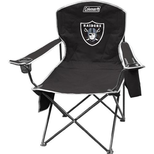 Oakland Raiders NFL Cooler Quad Tailgate Chair