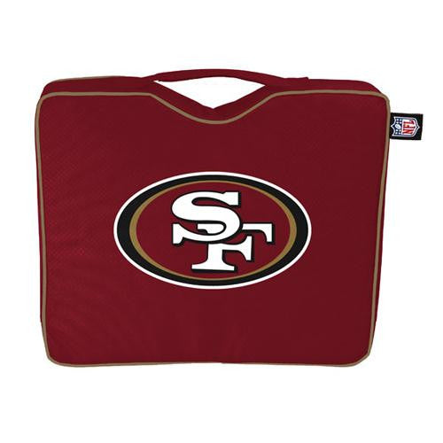 San Francisco 49ers NFL Bleacher Cushion