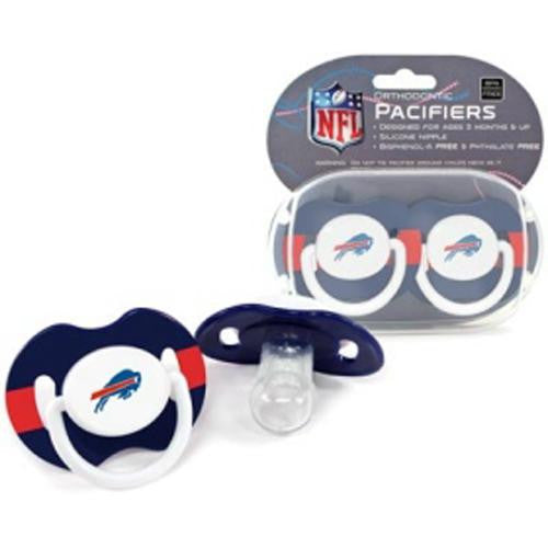 Buffalo Bills NFL Baby Pacifiers (2 Pack)