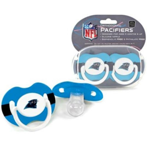 Carolina Panthers NFL Baby Pacifiers (2 Pack)